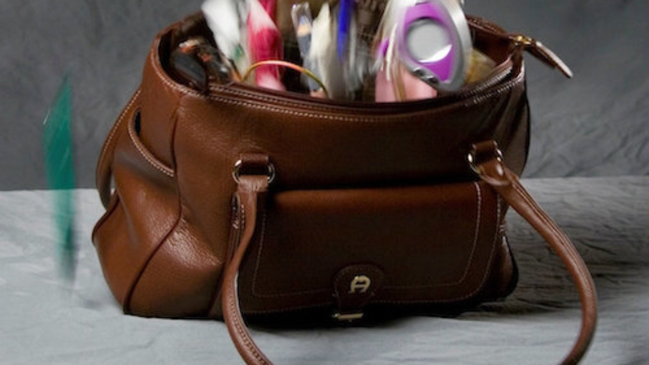 A woman's handbag is the Swiss Army knife of womanhood and a fertile ground for product innovation, according to Kelley Styring.